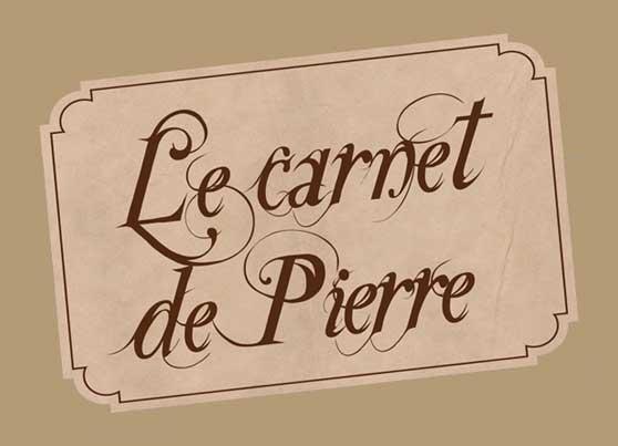 Le carnet de Pierre